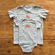 ロンパース+Tシャツ2枚組ギフトセット/Little×Big