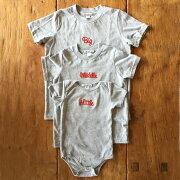 ロンパース+Tシャツ3枚組ギフトセット/Little×Big