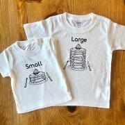 Tシャツ2枚組ギフトセット/パンケーキSmall×Large