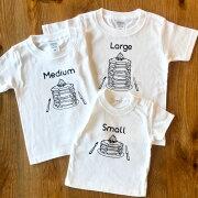 Tシャツ3枚組ギフトセット/パンケーキSmall×Medium×Large
