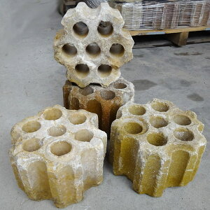 レンガの柱