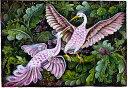 バリ絵画 BAF012 始祖鳥