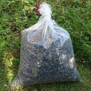 瓦チップ黒13kg袋(送料込、北海道・沖縄は500円アップ)