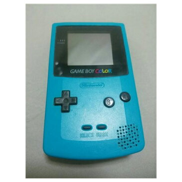 GBC ゲームボーイカラー ゲームボーイ カラー (ブルー) 本体のみ 本体単品 Nintendo 任天堂 ニンテンドー 中古 4902370503715 送料無料 【中古】