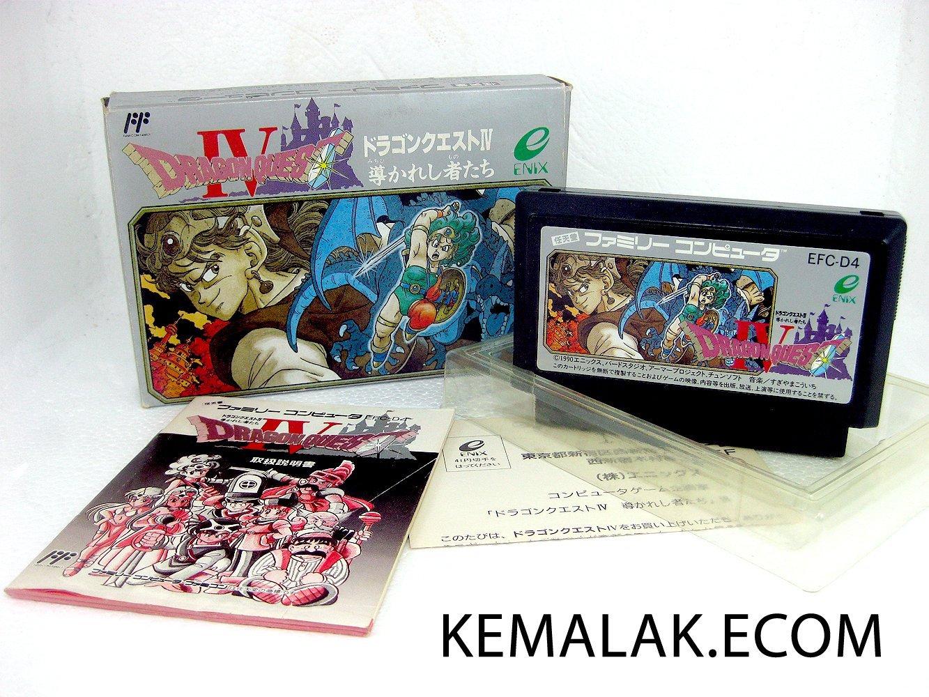 ファミコン, ソフト  FC 4IV 4 Nintendo 4988601002394