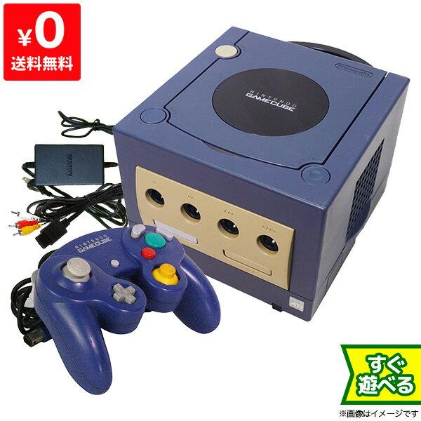 ゲームキューブ GC GAMECUBE 本体 バイオレット ニンテンドー 任天堂 Nintendo 【中古】 すぐに遊べるセット 4902370505542