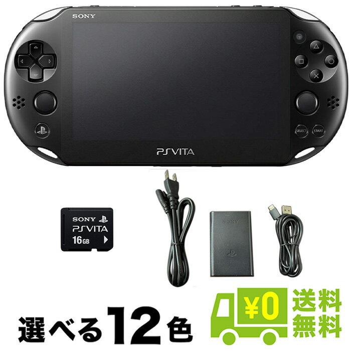 プレイステーション・ヴィータ, 本体 PSVITA Wi-Fi 12 16GB PlayStationVita SONY