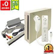 WiiウィーニンテンドーWii本体中古シロすぐに遊べるセットNintendo任天堂ニンテンドー4902370516227【中古】