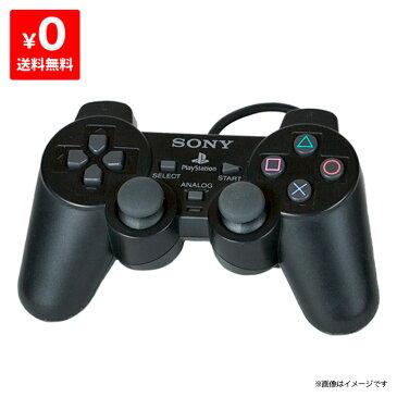 PS2 プレステ2 プレイステーション2 PlayStation2 コントローラ- デュアルショック2 DUALSHOCK2 ブラック 中古 4948872800105 送料無料 【中古】