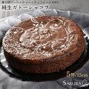 純生 ガトーショコラ ケーキ 5号 15cm ギフト箱付 プレゼント お菓子 【SAKURA】【送料無料】(gift) その1