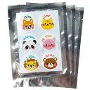 虫コマシール アニマル 1袋18枚入 虫除け 虫よけシール(メール便送料無料)
