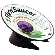 フライング・ソーサー M 直径:18.5cm 青 ・ 紫 ・ 緑