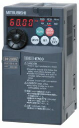 【一般家庭用電源で使用可能♪インバータ操作を勉強するのに最適】三菱電機〓インバータ単相100V0.75KW〓FR-E710W-0.75K