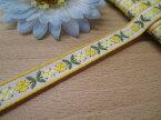 ☆NEW☆特価チロルテープ黄色花柄1(巾約1.1cm)