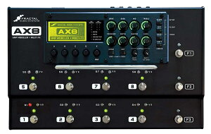 FRACTAL AUDIO SYSTEMS AX8 【ご予約受付中】