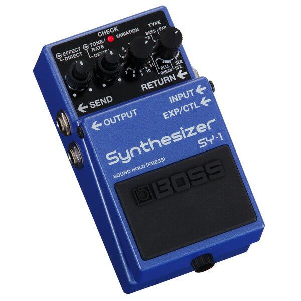 ギター用アクセサリー・パーツ, エフェクター  BOSS SY-1 Synthesizer rpt5