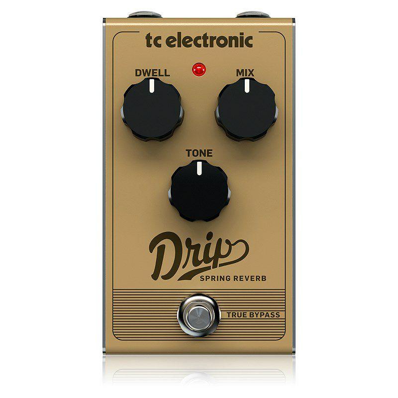 ギター用アクセサリー・パーツ, エフェクター t.c.electronic DRIP SPRING REVERB