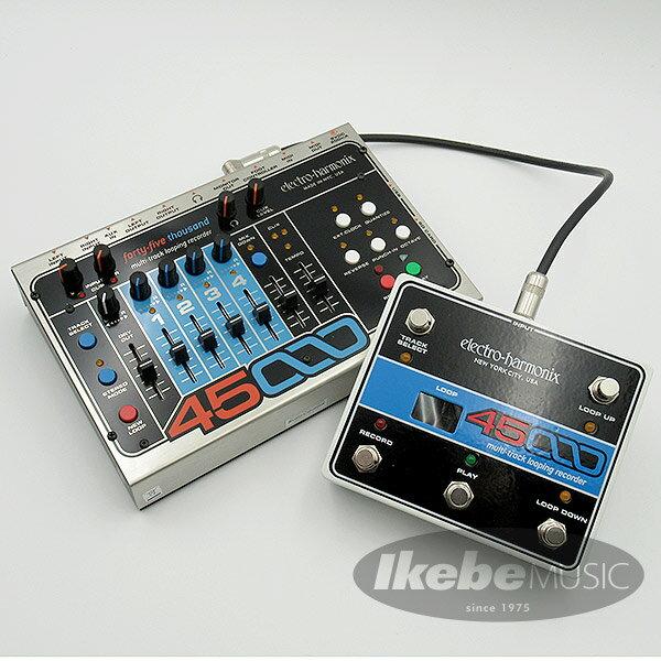 ギター用アクセサリー・パーツ, エフェクター Electro Harmonix 45000 Multi-Track Looping Recorder Foot Controller Set
