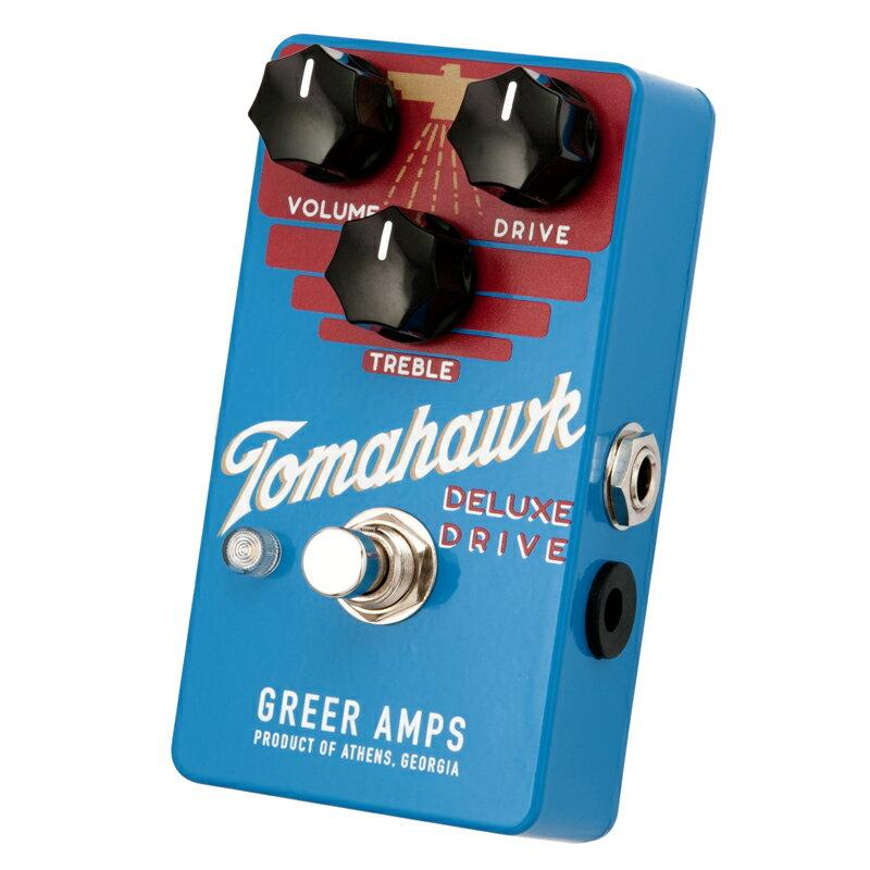 ギター用アクセサリー・パーツ, エフェクター Greer Amps Tomahawk DELUXE DRIVE