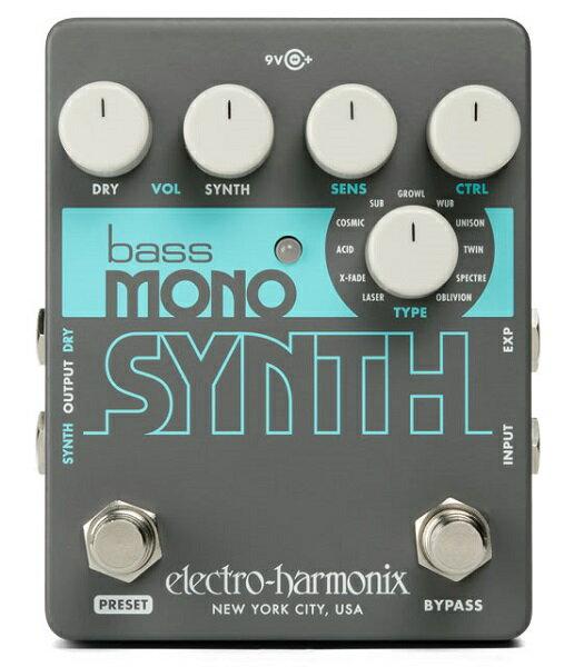 ベース用アクセサリー・パーツ, エフェクター  Electro Harmonix Bass Mono Synth Bass Synthesizer