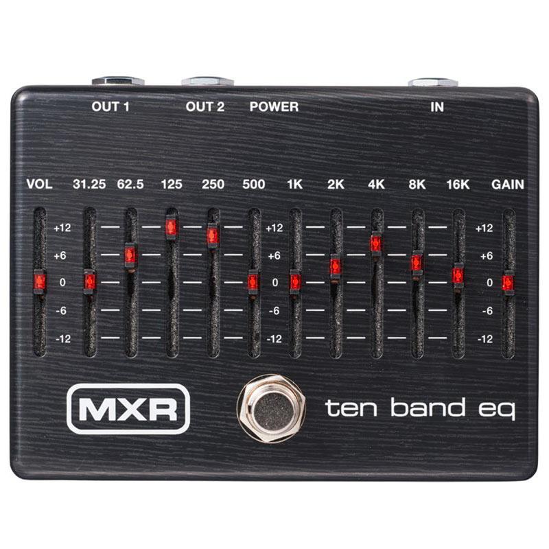 ベース用アクセサリー・パーツ, エフェクター MXR M108SE TEN BAND EQ Limited Ebony