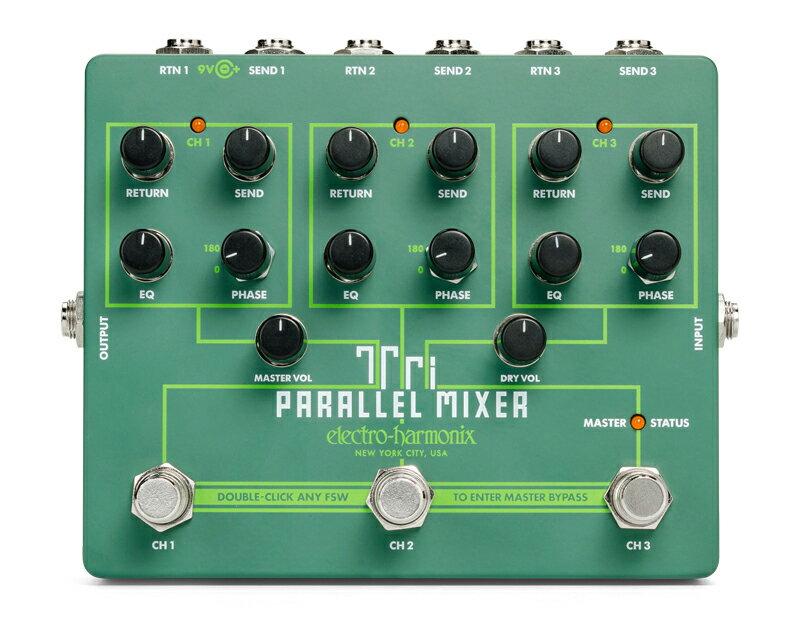 ギター用アクセサリー・パーツ, エフェクター Electro Harmonix Tri Parallel Mixer Effect Loop MixerSwitcher