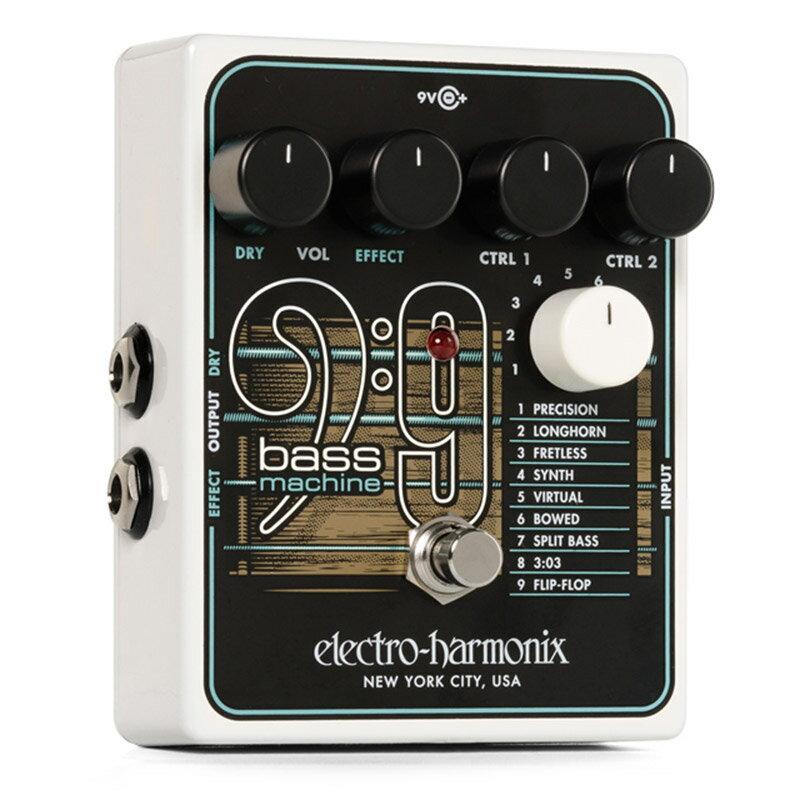 ギター用アクセサリー・パーツ, エフェクター Electro Harmonix BASS9 Bass Machine