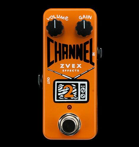 ギター用アクセサリー・パーツ, エフェクター Z-VEX Channel 2