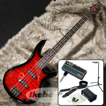 Ibanez GSR370-TRS 【VOX amPlug 2 for Bass エレキベース入門1BOXセット】