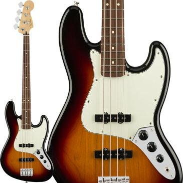 Fender MEX Player Jazz Bass (3-Color Sunburst/Pau Ferro) [Made In Mexico] 【お取り寄せ商品】 【rpt5】