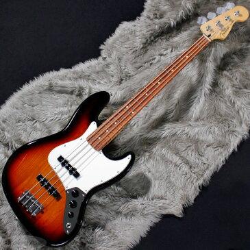 Fender MEX Player Jazz Bass (3-Color Sunburst/Pau Ferro) [Made In Mexico] 【即納可能】 【rpt5】