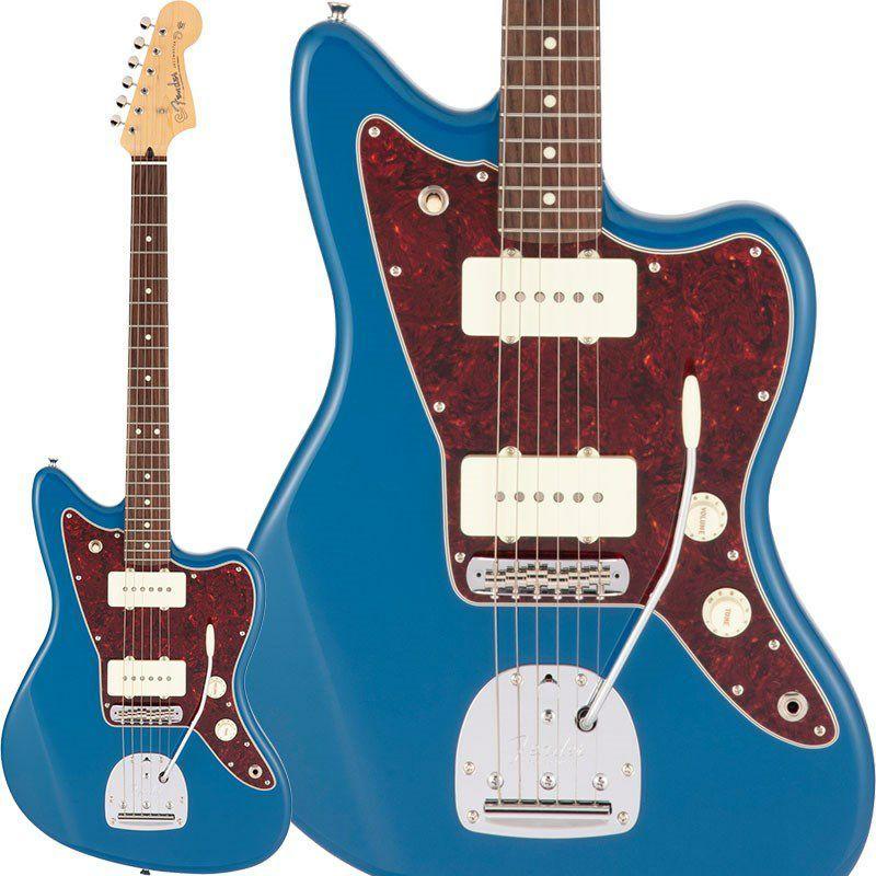 ギター, エレキギター Fender Made in Japan Made in Japan Hybrid II Jazzmaster (Forest BlueRosewood) rpt5