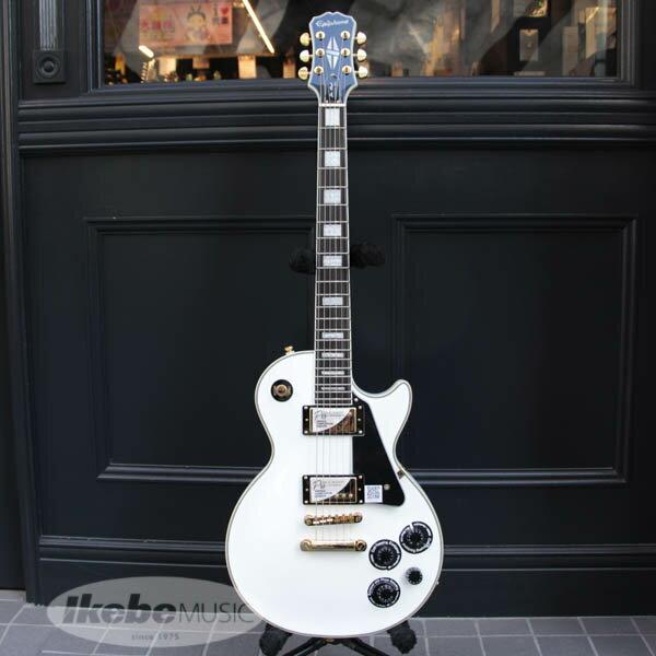 チョイキズ特価! Epiphone Les Paul Custom Pro (Alpine White) 【アウトレット特価】
