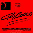 R.Cocco Finest Handmade Bass Strings 5弦用 Extra-Long (RC5CX/ニッケル/45-125XL)