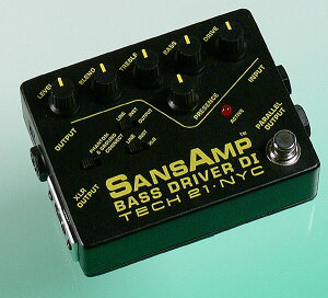 TECH21SANSAMP BASS DRIVER D.I. 【正規輸入品】【05P13Dec13_m】