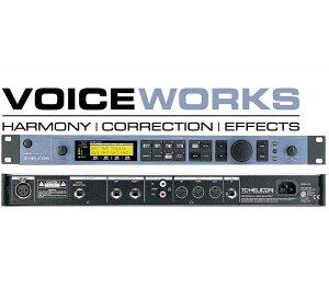 【ボーカルエフェクター】●TC Helicon VOICE WORKS