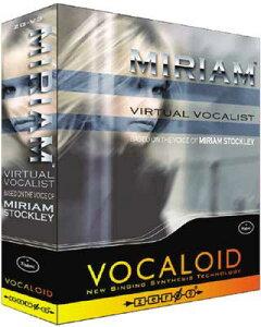 【VOCALOIDシリーズソフトウェア】●ZERO-G VOCALOID MIRIAM