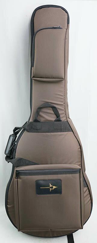 ベース用アクセサリー・パーツ, ケース NAZCA IKEBE ORDER Protect Case for Semi-Acoustic Guitar Dark Brown51