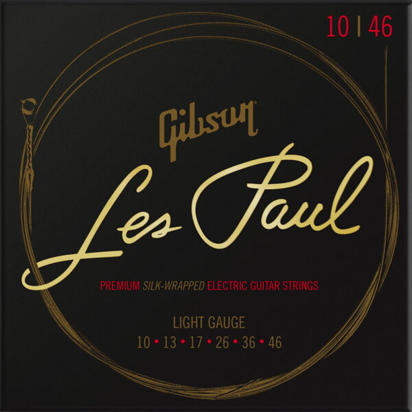 Gibson(ギブソン)LesPaulPremiumElectricGuitarStrings/LightGauge SEG-L