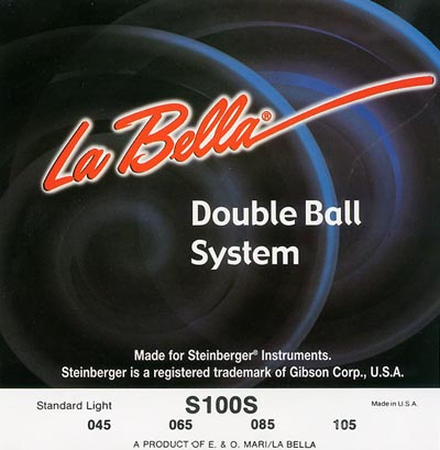 LaBella S100S Stainless Steel Round Wound Bass Strings