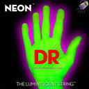 【エレキギター弦】DR NEON Guitar Strings [NEON GREEN]