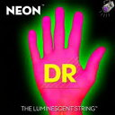 【エレキギター弦】DR NEON Guitar Strings [NEON PINK]