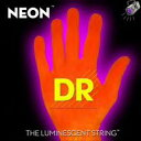 【エレキギター弦】DR NEON Guitar Strings [NEON ORANGE]