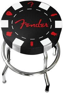 """【バー・スツール】Fender USA Poker Chip Barstool 24"""" [フェンダー・バースツール]"""