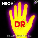 【エレキギター弦】DR NEON Guitar Strings [NEON YELLOW]