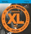 D'Addario XL Nickel Round Wound EXL160