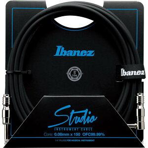 【楽器用シールドコード】Ibanez HF (Hundred Fifty) Studio Cable HF10 (3.05m/SL) 【9月末入...