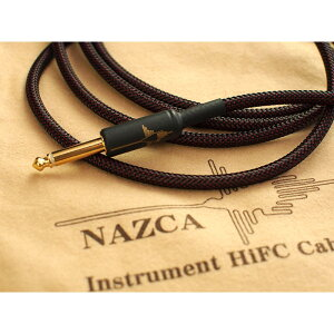 NAZCA Instrument HiFC Cable 純度が高くナチュラルなサウンド、ノイズも少なくオススメのギターシールド