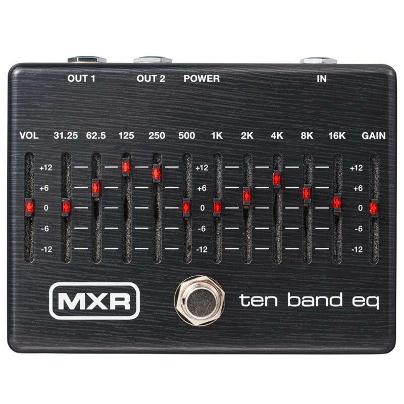ギター用アクセサリー・パーツ, エフェクター MXR M108SE TEN BAND EQ Limited Ebony