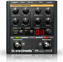 【プログラマブル・オーバードライブ/ディストーション】t.c. electronic NDR-1 Nova Drive